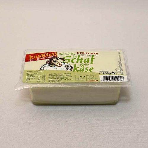 Schafskäse, Schafskäserolle, Schafkäserolle, Schofkas, echter Schafkäse, einzeln