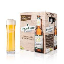 Bio-Bier Pils naturtrüb biobier naturtrübes vollbeir bier beir