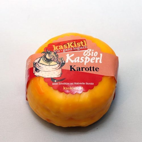 Bio Kasperl Karotte, Kretschmer, Karotte, Gemüse, Kasper, Kuhkäse, laktosefrei