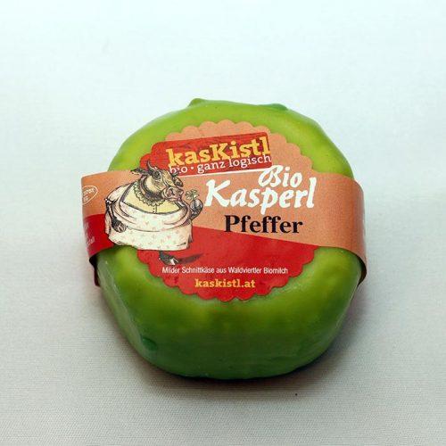 Bio Kasperl Pfeffer, Kretschmer, Pfefferkörner, Kasper, Kuhkäse, laktosefrei