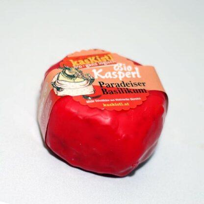 Bio Kasperl Paradeiser, Kretschmer, Tomate, Tomaten, mediteran, Kasper, Kuhkäse, laktosefrei