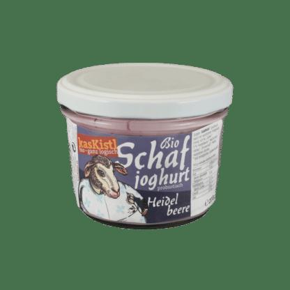 Bio Schafjoghurt Heidelbeer, jokurt, jogurt, yoghurt, schafmilch, frucht, schafsmilch, schafjogurt, blaubeeren