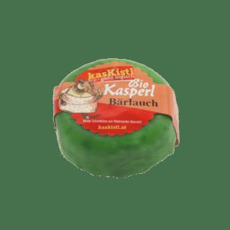 Bio Kasperl Bärlauch, Kuhmilch, laktosefrei, beerlauch, berlauch, knoblauch